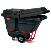 Rubbermaid Poly Tilt Trucks