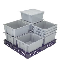 Rubbermaid Palletote Shipping Containers