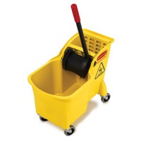 31-Quart Tandem Mop Bucket and Wringer