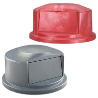 Dome Lids fit round Brute drums.