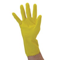Ansell 17-Mil. Flock-Lined Latex Glove