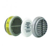 White N95 Particulate Filter - Pack of 5