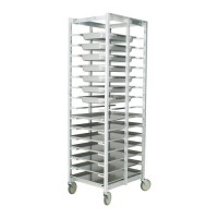 Knock-Down Aluminum Universal Pan Rack