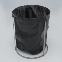 Stainless Steel Knockdown Trash Liner Holder