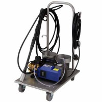 2-HP Pressure Washer with Stainless Steel Cart