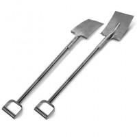 Reinforced Stainless Steel Spade