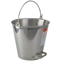 Stainless Steel Pail with Tilt Handle