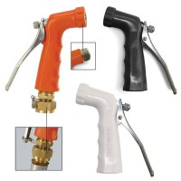 Heavy-Duty Hot Water Nozzle with Stainless Steel Handle