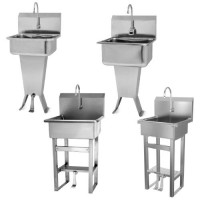 Sani-Lav Floor-Mount Hand-Wash Sinks