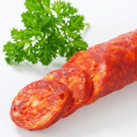 Zesty Chorizo has bright red chilis and a complexity of South American spices and herbs.