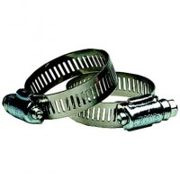 Stainless Steel Hose Clamp 7/16'' NPT To 1'' GHT