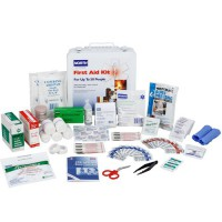 #50 First Aid Kit, open.