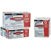 Storage ZipLoc Bags are available in Quart, 1-Gallon or 2-Gallon sizes.