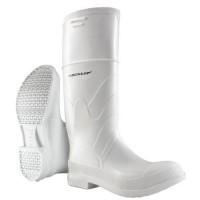 Dunlop White, Steel Toe PVC Boots