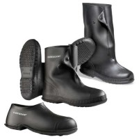"PVC Overshoes are available in 4"", 10"" or 17"" uppers."