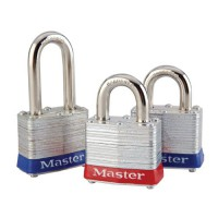 Shackle Security Locks with Bumpers (Blue and Red)