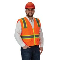 Class 2 SURVO Orange Safety Vest