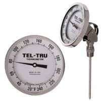 Adjustable Angle, Bi-Metal Dial Thermometer