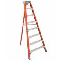 Louisville 8' Type 1A Fiberglass Tripod Ladder, 300 Lb. Cap. - FT1508