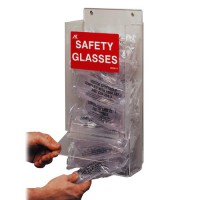 Acrylic Safety Glasses Dispenser