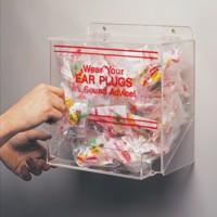 Acrylic Earplug Dispenser