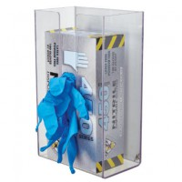 This acrylic glove dispenser puts gloves at your employees fingertips. Gloves sold separately.