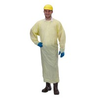 Yellow Disposable Polywear Gown