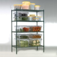 Heavy-Duty Wire Shelving