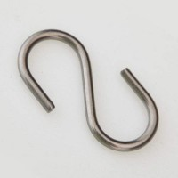 "Stainless Steel ""S"" Hook"