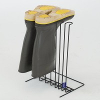 Boot stand helps dry, organize and store a pair of boots so they last longer.