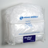 Holds all styles of hair net/bouffants or beard covers-whether bagged or boxed.