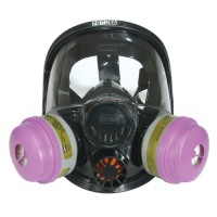 7600 Series Silicone Full Face Respirator