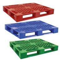 Decade RACX pallets are available in 4 colors: Black, Blue, Red and Green