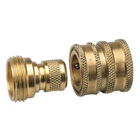 Quick Connect Set - Brass Male GHT x Female GHT
