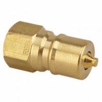 Plug Valve, Male End 3/8'' FTP With Auto Shut Off