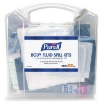 Body Fluid Spill Kit packaging.