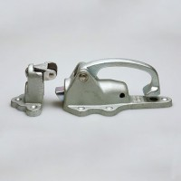 Bolt-Action Walk-In Cooler Door Latch