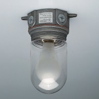 Shatter Proof Lexan Walk-In Cooler/Freezer Light Fixture.