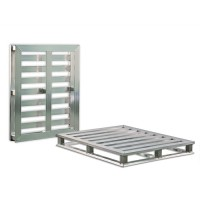 Available with or without constructed center support for pallet flow systems.