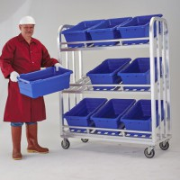ToteAll 2000 Aluminum Merchandising/Picking Cart