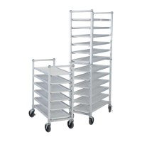 Knock-down Aluminum Deli Platter Dolly