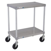 Solid Shelf Aluminum Equipment Stands