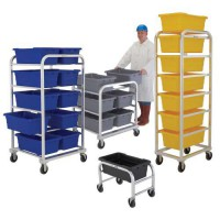 Heavy-Duty Welded Aluminum Tote Dollies