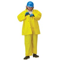 DuraScrim 3-Piece Double-Coated Polyester Rainsuit