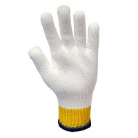 Whizard 3'' Cuff Defender® Cut-Resistant White Gloves