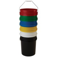 5-Gallon Food Approved Plastic Buckets