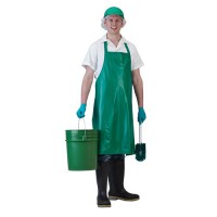 Vinyl Retail Aprons is available in 6 easy-to-clean colors.