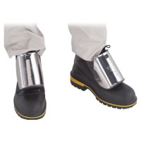 Stainless Steel Foot Protector for Shoes WITH Laces