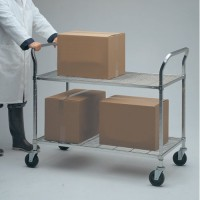 Heavy-Duty Metal Utility Carts