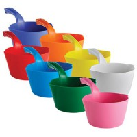 Vikan Colored Plastic Bowl Scoops